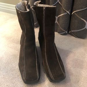 NWT Nine West Suede Boots Size 6.5